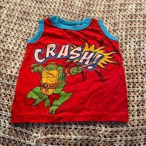 ❤️5 for $25❤️ Nickelodeon Ninja Turtle Tank